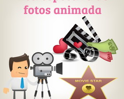 Retrospectiva de fotos animada