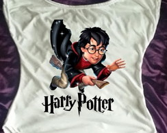 Camisa Gola Canoa Harry Potter 01