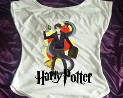 Camisa Gola Canoa Harry Potter 11