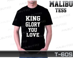 Camiseta Gospel King Glory