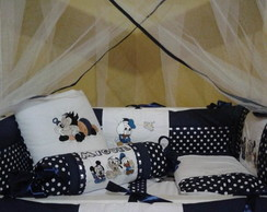 Kit Mini berço Disney Baby 11pç