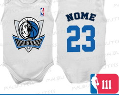 Body Regata Dallas Mavericks Basquete