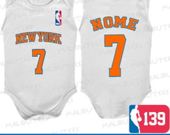 Body Regata New York Knicks Basquete Nba