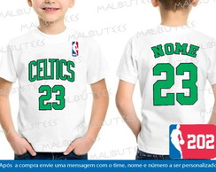 Camiseta Infantil Boston Celtics Nba