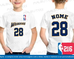 Camiseta Infantil Golden State Warriors