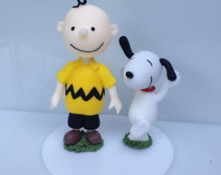 Snoopy e Charlie Brown de Biscuit