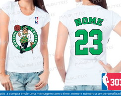 Baby Look Boston Celtics Basquete Nba
