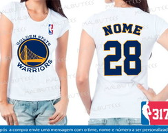 Baby Look Golden State Warriors Basquete
