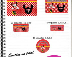 Etiqueta Escolar Minnie