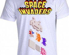 Camiseta Space Invaders 01
