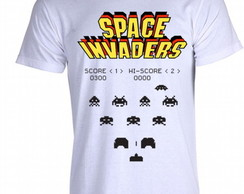 Camiseta Space Invaders 02