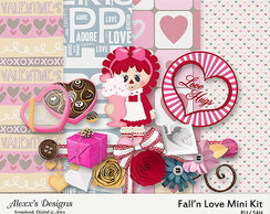 Kit Digital Fall'N Love Mini Kit