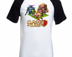 Camiseta Raglan Clash of Clans 03
