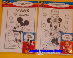 Kit pintura Mickey e Minnie