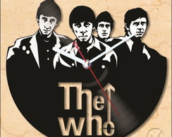 Relógio de Disco de Vinil (THE WHO)