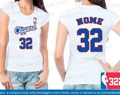 Baby Look Los Angeles Clippers Basquete