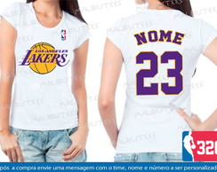 Baby Look Los Angeles Lakers Basquete