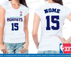 Baby Look New Orleans Hornets Basquete