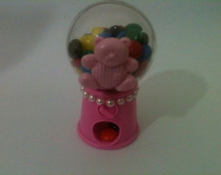 Mini Baleiro Candy Machine com aplique