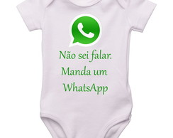 Body bebê divertido WhatsApp