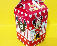 Milk Box Minnie Vermelha
