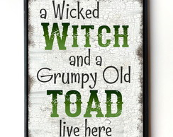 Quadro Wicked Witch