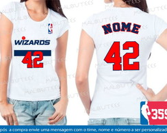 Baby Look Washington Wizards Basquete