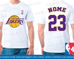 Camiseta Los Angeles Lakers Basquete Nba
