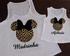 Regatas Madrinha e Afilhada Minnie