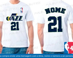 Camiseta Utah Jazz Basquete Nba