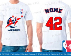 Camiseta Washington Wizards Basquete