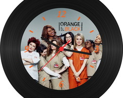 Relógio de Vinil-Orange Is The New Black