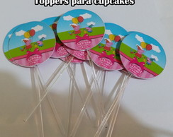 Toppers Para Cupcakes Peppa Pig