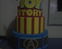 Bolo Falso - Toy Story