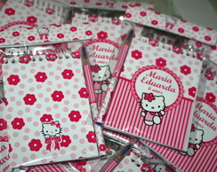 Bloquinho hello kitty