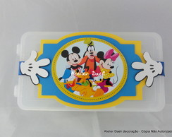 porta guloseimas Turma do mickey