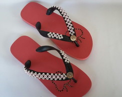 CHINELO DECORADO