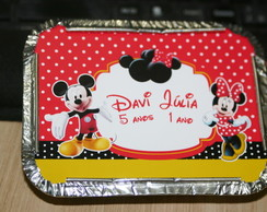 Marmita mickey e minnie 250g