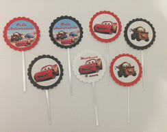 toppers Festa tema Carros Disney