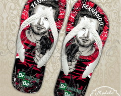 Chinelo Breaking Bad Personalizado