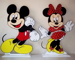 Mickey e Minnie - kit - mesa