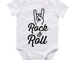 Body de bebê Rock´n Roll