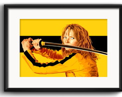 Quadro Filme Kill Bill com Paspatur