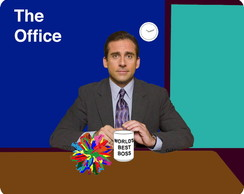 Mouse pad - The Office - Best Boss