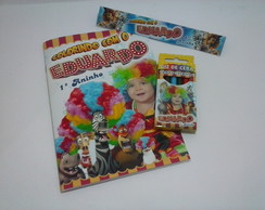 Kit de Colorir Madagascar Circo