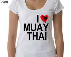 T-shirt I love Muay Thai