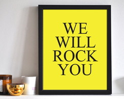 Poster We Will Rock You Queen