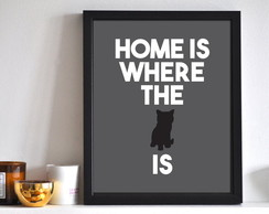Poster Home is where the CAT is