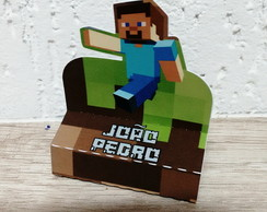 Porta chocolate duplo Minecraft