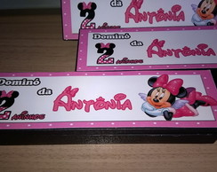 Dominó personalizado Minnie